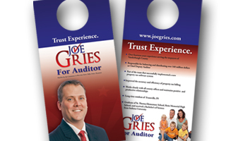 Joe Gries Door Hangers