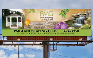 PMG Landscaping Outdoor Board