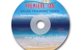 Premier Tan DVD Label