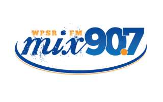WPSR FM Mix 90.7 Logo Design