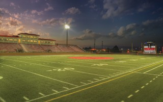 Romain Stadium at Harrison High School