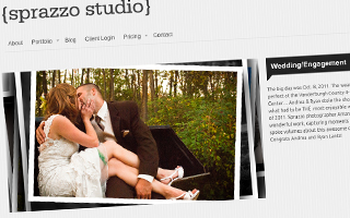 Sprazzo Studios Website Design
