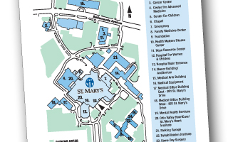 St. Marys Hospital Campus Map