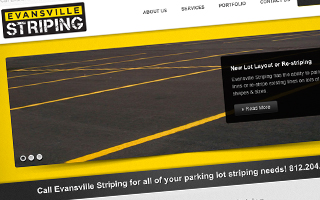 Evansville Striping Website
