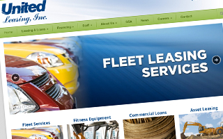 United Leasing Website