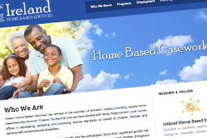 Ireland Home Based Services Website