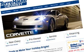 Terre Haute Deals Website Design