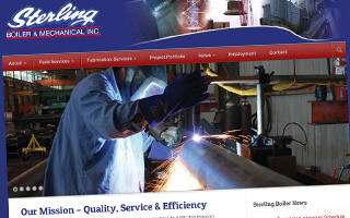 Sterling Boiler Website