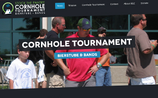 Stock the Pantry Cornhole Tournament Website